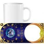 Чашка знаки зодиака с фото - водолей