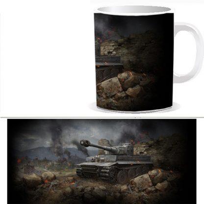 Чашка с принтом World of Tanks 0031s