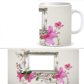 Чашка с фото в рамкке - W0023S
