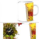 Чашка с фото - осень W0025S