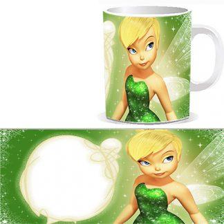 Чашка детская со сказочной феей и Вашей фотографией, фотографией поздравляемого ребенка