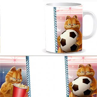 Чашка детская с мультипликационным героем – котом Гарфилдом
