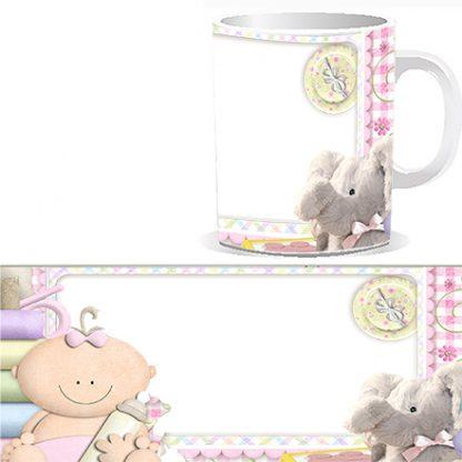 Чашка детская с Вашей фотографией. Отличная память с первым снимком Вашего ребенка