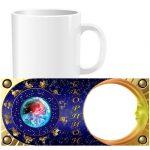Чашка знаки зодиака с фото - Скорпион (01-11)