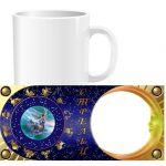 Чашка знаки зодиака с фото - Стрелец (01-12)