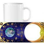 Чашка знаки зодиака с фото - Телец