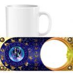 Чашка знаки зодиака с фото - Близнецы