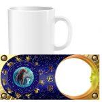 Чашка знаки зодиака с фото - Лев (01-08)