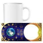 Чашка знаки зодиака с фото - Дева (01-09)
