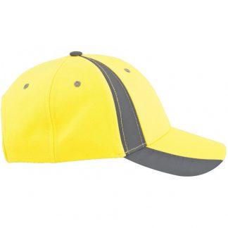 желтая кепка, блайзер